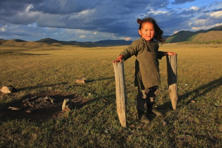boy in mongolia by sherry ott