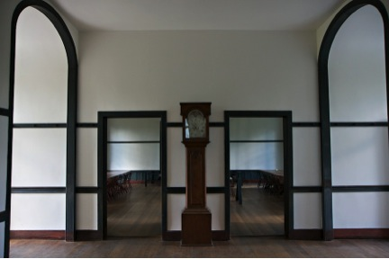 symmetry at the shaker village