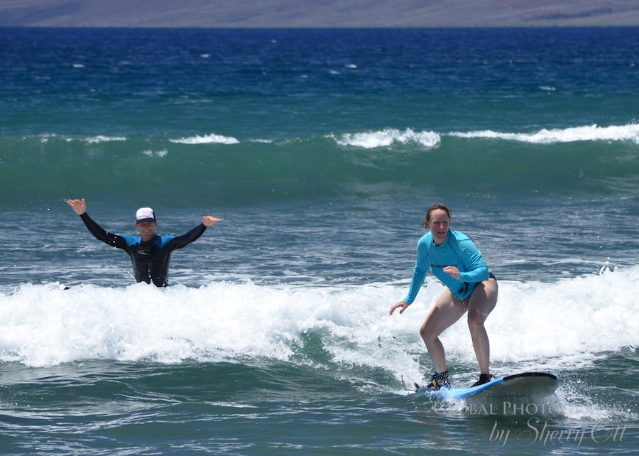 Maui Hawaii Adventures 1 - me surfing