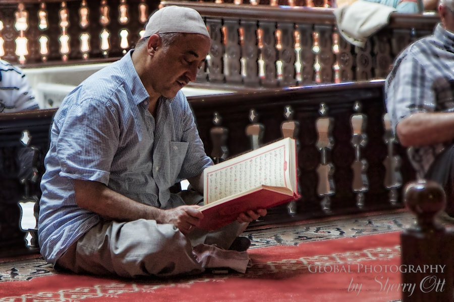 Don't Judge praying in a mosque Turkey