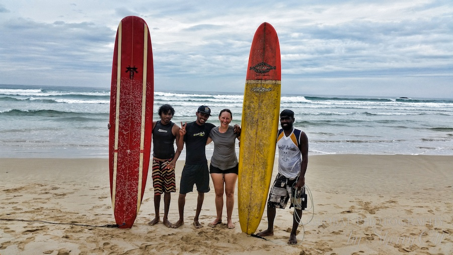 no plans surfing lessons in Sri Lanka