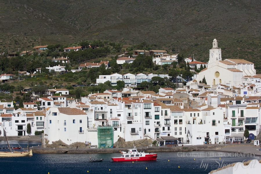 The beach town of Cadaques and nearby home to Salvador Dali.