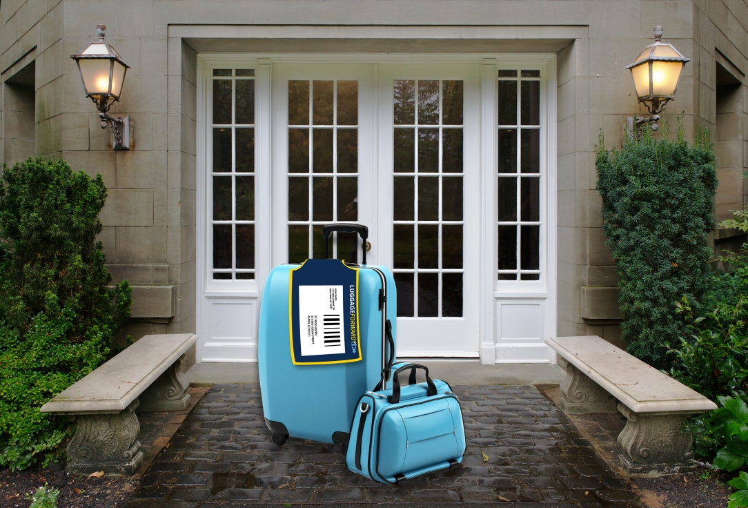 Luggage Forward is a luggage delivery service for travelers.