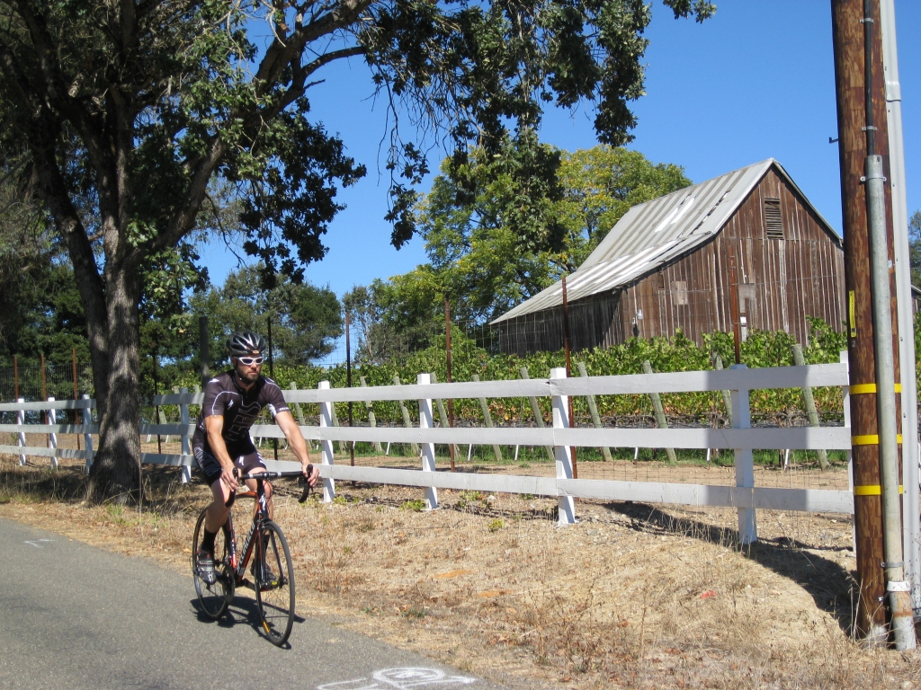Tour de Sonoma 5 - Sonoma on a Bike