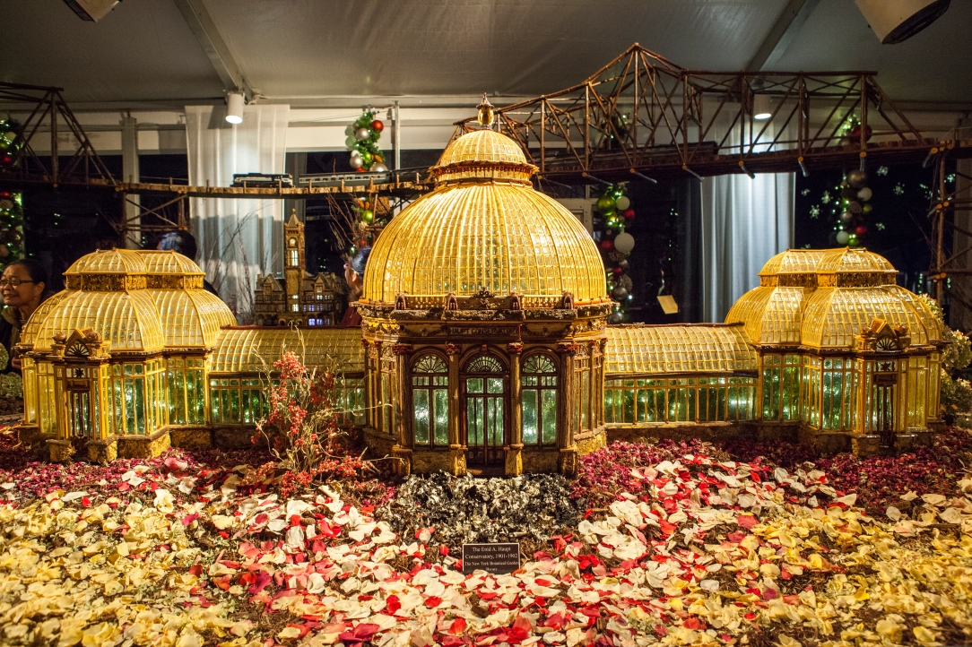 Holiday Train Show, New York Botanical Garden, Bronx