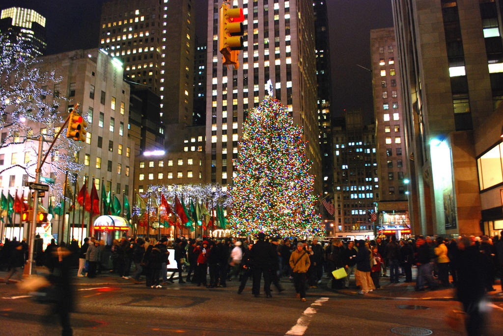 A New York City Holiday Tradition Rockefeller Center Christmas